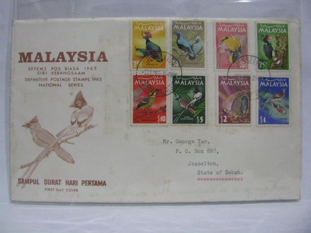 19650909 Jesselton National Definitives