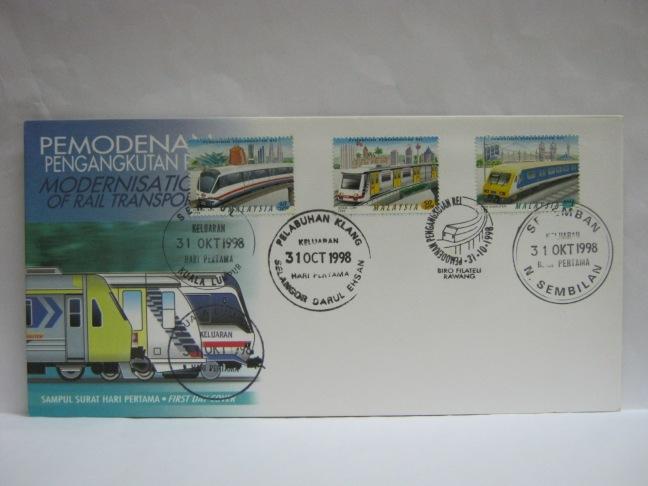 19981031 KL Sentul Pelabuhan Kelang Rawang Seremban Modernisation of Rail Transport