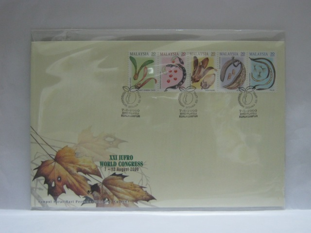 20000807 KL XXI IUFRO World Congress Cover 1