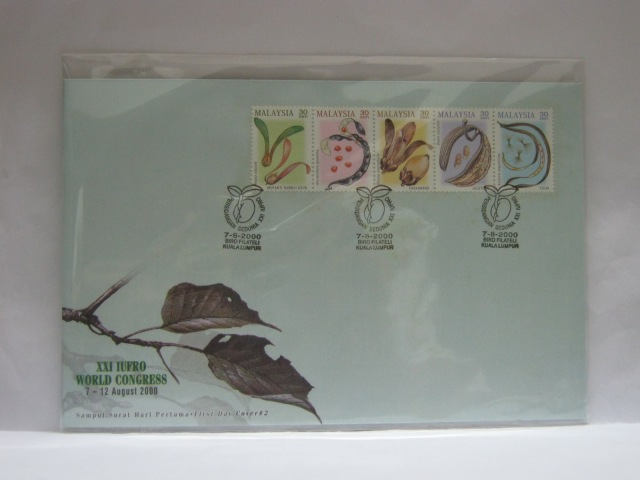 20000807 KL XXI IUFRO World Congress Cover 2
