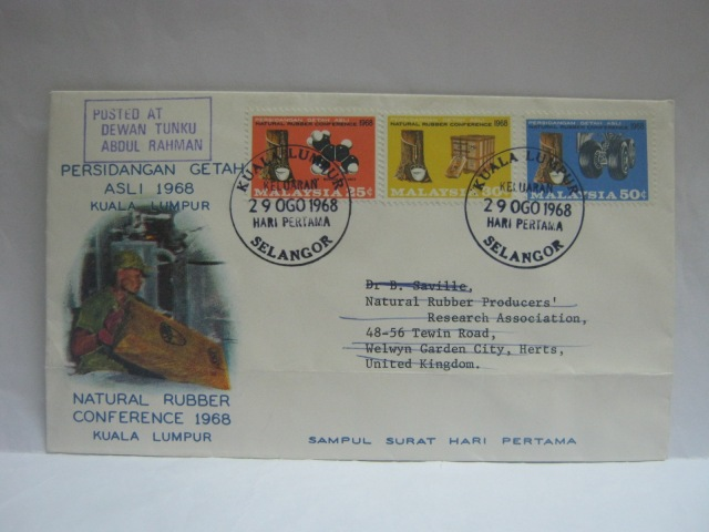 19680829 Dewan Tunku Abdul Rahman KL Natural Rubber Conference
