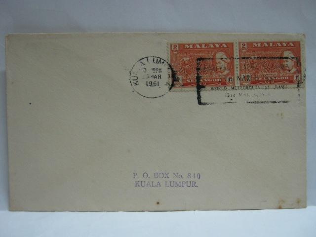 19610323 Kuala Lumpur World Meteorological Day