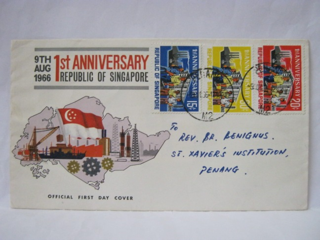 19660809 Penang First Anniversary Republic of Singapore