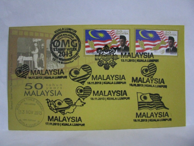 20131113 Berjaya Times Square KL Stamp Week 2013 Full