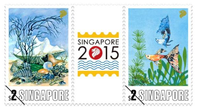 Singapore 2015 Series 2 stamps