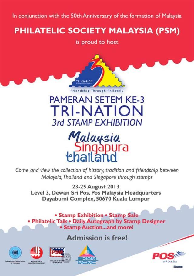 Exhibition Poster Tri Nation Malaysia 2013