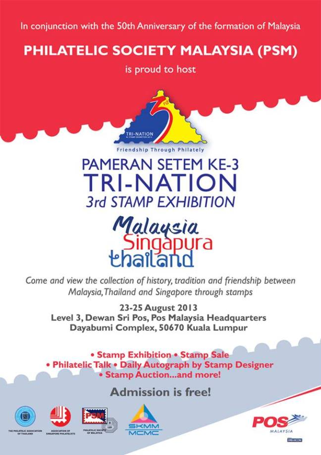 Exhibition Poster Tri Nation Malaysia 2013