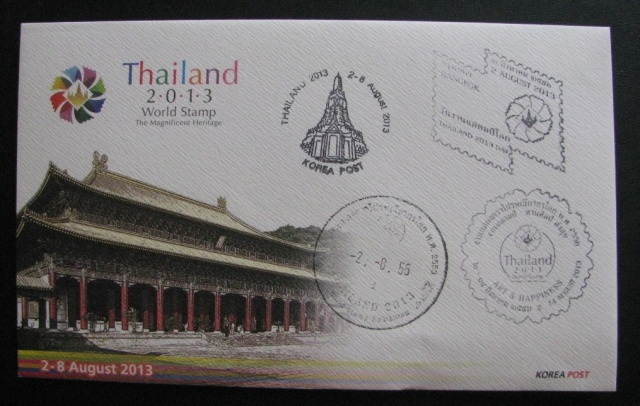 Korea Post Thailand 2013