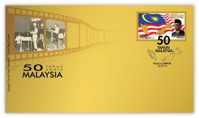 50 Years of Malaysia FDC