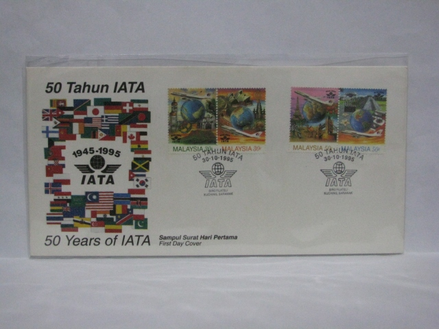 19951030 Kuching 50 Years IATA
