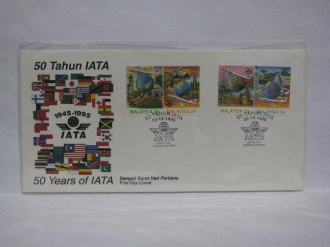 19951030 Kuching 50 Years IATA