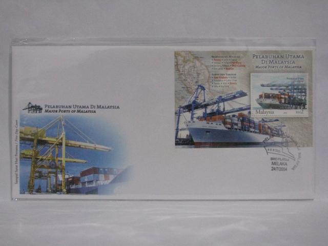 20040724 Melaka Major Ports of Malaysia MS