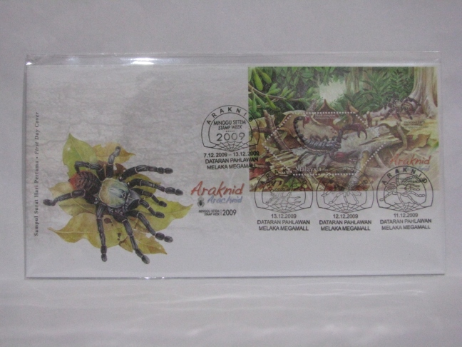 20091207 Melaka All Stamp Week Arachnid MS