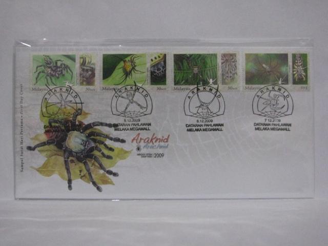 20091207 Melaka All Stamp Week Arachnid