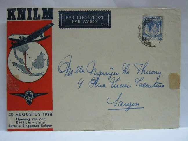 19380830 KNILM Singapore - Saigon
