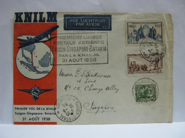 19380831 KNILM Saigon - Singapore - Batavia