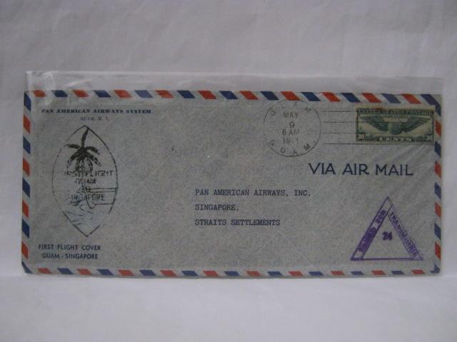 19410509 PAA Guam - Singapore
