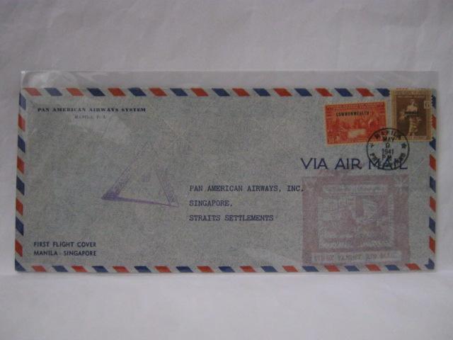 19410509 PAA Manila - Singapore