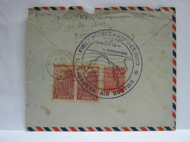 19501006 Calcutta - Singapore