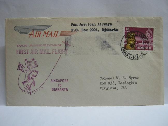 19590605 PAA Singapore - Jakarta