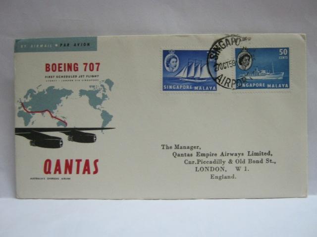 19591027 Qantas Singapore - London