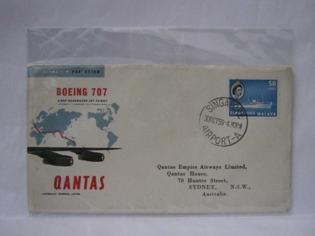 19591030 Qantas Singapore - Sydney