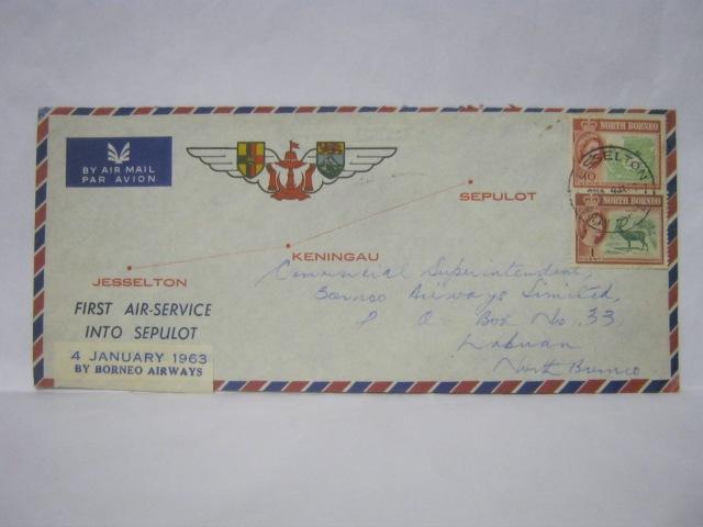 19630104 Borneo Airways Jesselton - Keningau - Sepulot