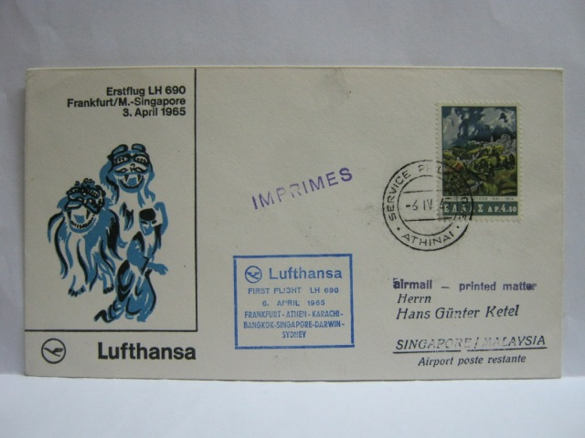 19650406 LH Athens - Singapore