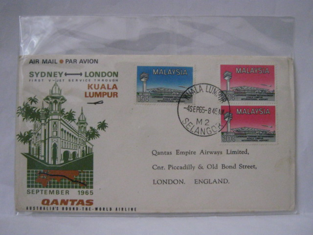 19650904 Qantas KL - London