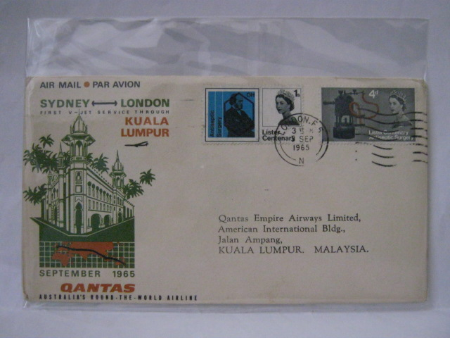 19650905 Qantas London - KL