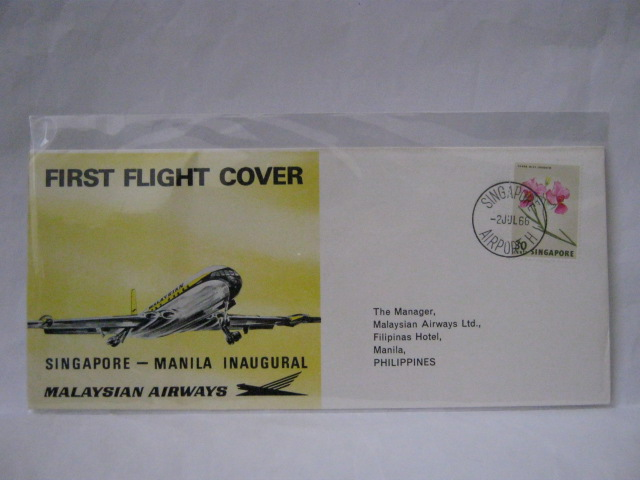 19660702 Malaysian Airways Singapore - Manila