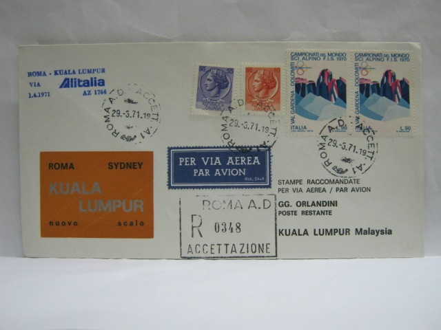19710401 Alitalia Rome - KL