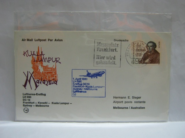 19800401 LH Frankfurt - Melbourne