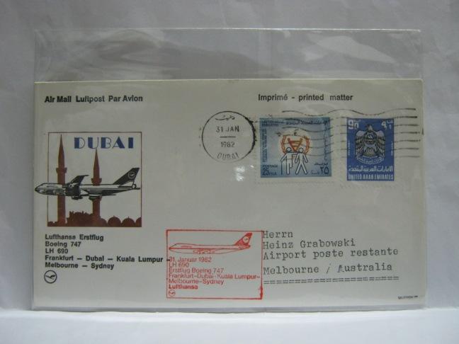 19820131 Lufthansa Dubai - Melbourne
