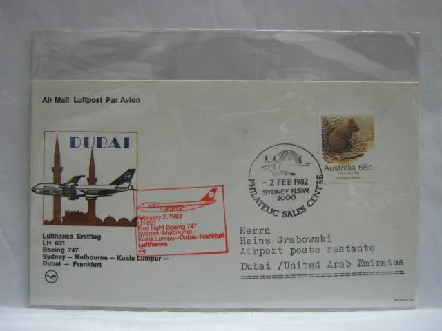 19820202 Lufthansa Sydney - Dubai