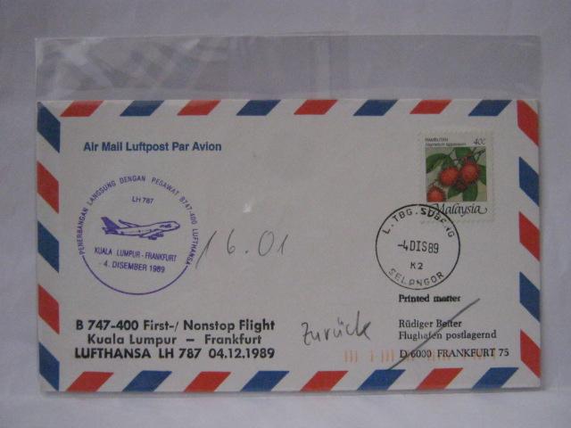 19891204 LH KL - Lufthansa