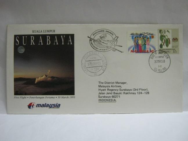 19930330 MAS KL - Surabaya