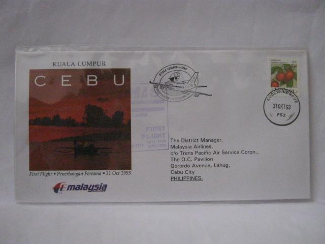 19931031 MAS KL - Cebu