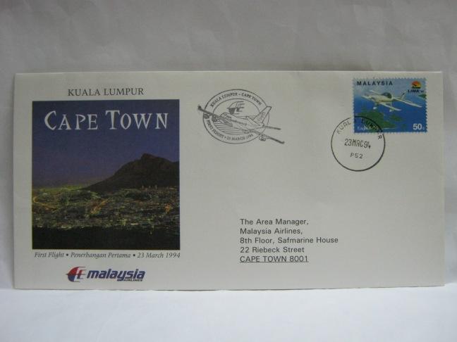 19940323 MAS KL - Cape Town