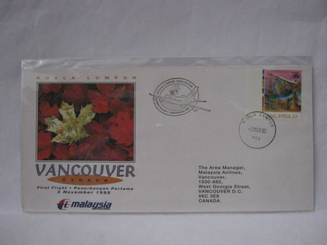19951103 MAS KL - Vancouver