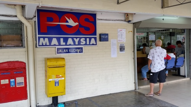 Jalan Kuching Post Office