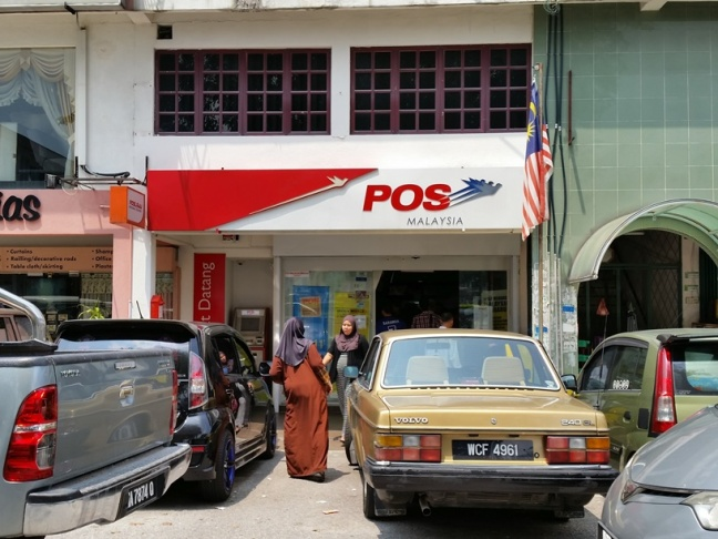 Taman Melawati Post Office