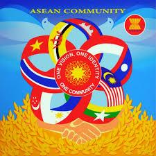 ASEAN Community 2015 stamp design