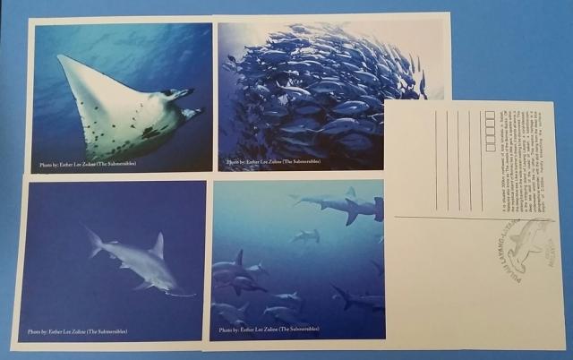 Postal Agent Pulau Layang-layang Postcards