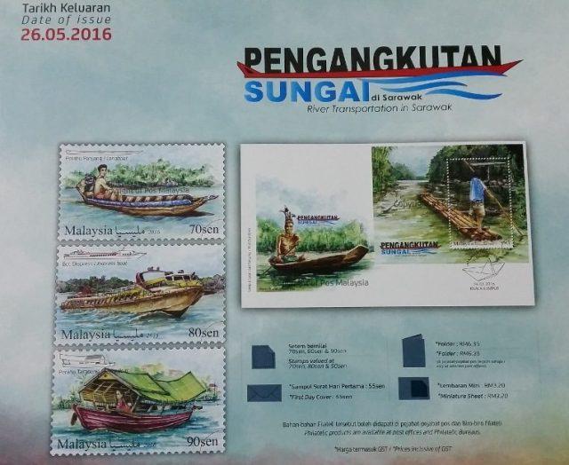 River Transportation in Sarawak