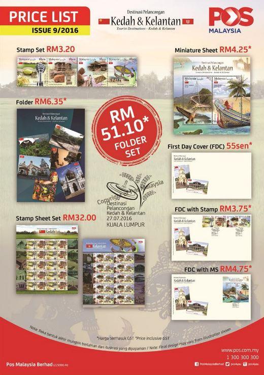 Tourist Destinations Kedah Kelantan Price List