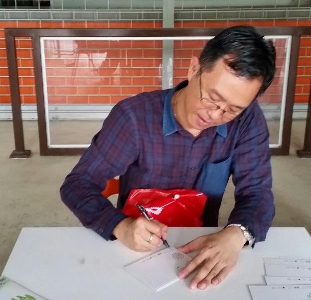 20160823 Mr KY Lim Autograph Session Zoo Negara
