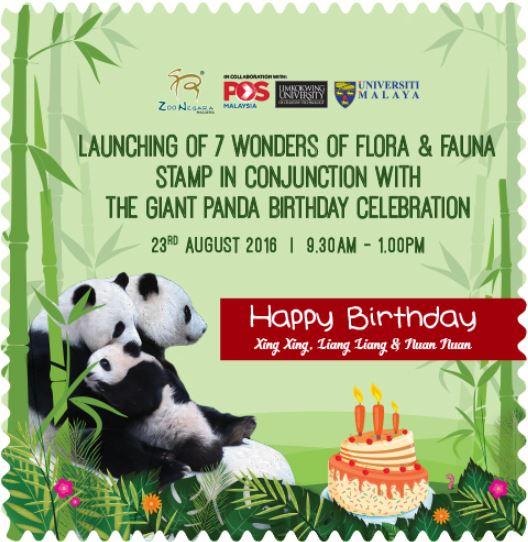 Zoo Negara Giant Panda Celebration