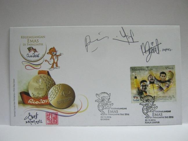 20161220 Gombak KL Rio 2016 Paralympics autographed.JPG