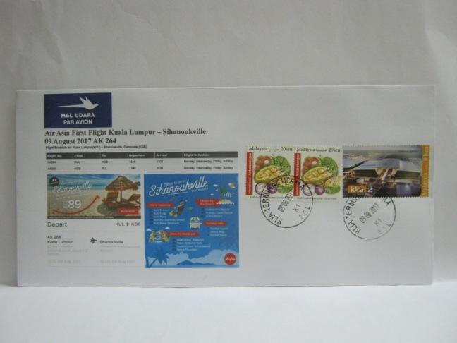 20170809 Air Asia KL - Sihanoukville